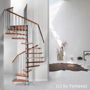 fontanot treppen genius treppenmodelle aus stahl und holz. Black Bedroom Furniture Sets. Home Design Ideas