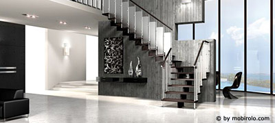 ma gefertigte treppen aus stahl metall und glas faire. Black Bedroom Furniture Sets. Home Design Ideas