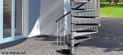 au entreppe feuerverzinkte spindeltreppe econ z f r. Black Bedroom Furniture Sets. Home Design Ideas